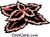 Vector Clipart picture  of a dogwood