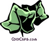 Vector Clip Art graphic  of a English ivy