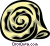snail shell Vector Clipart illustration