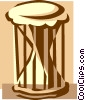 bongo drum Vector Clipart illustration