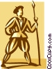 guard Vector Clip Art graphic