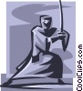 ninja Vector Clipart illustration