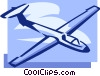 Vector Clipart illustration  of a glider