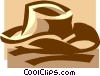 cowboy hat Vector Clip Art picture