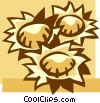 sunflowers Vector Clip Art picture