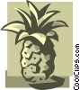 pineapples Vector Clipart illustration