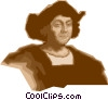 Vector Clipart graphic  of a Christopher Columbus Genoese