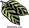 buckhorn leaf Vector Clip Art picture
