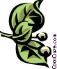 button bush Vector Clip Art picture