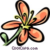 Vector Clip Art image  of a St. Johnswort