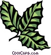 Vector Clipart graphic  of a beech