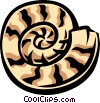 nautilus shell Vector Clip Art picture