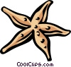 Vector Clipart graphic  of a starfish