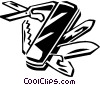 Vector Clip Art graphic  of a jackknife