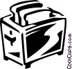 toaster Vector Clipart illustration