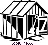 barn Vector Clipart image