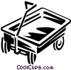 Vector Clipart graphic  of a wagon