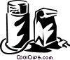 Vector Clipart image  of a coffee bean grinder