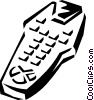 Vector Clipart graphic  of a remote control