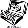 Vector Clipart illustration  of a cigars
