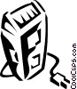 Vector Clip Art graphic  of a electric razor