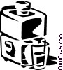 Vector Clipart image  of a juice machine