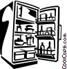 fridge Vector Clipart illustration