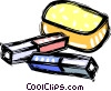 erasers Vector Clip Art graphic