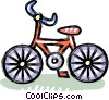 Child's bike Vector Clip Art picture
