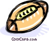 Vector Clipart graphic  of a football