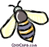 bee Vector Clipart graphic