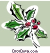 holly Vector Clip Art picture