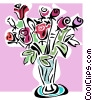 Vector Clipart illustration  of a roses