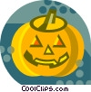 Vector Clip Art picture  of a pumpkin