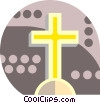 cross Vector Clipart graphic