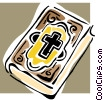 Vector Clipart illustration  of a Bible