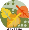 Fall leaves Vector Clipart illustration