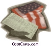 Vector Clip Art graphic  of an American Declaration of