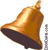 Vector Clip Art graphic  of a bell