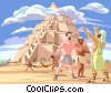 The Tower of Babel Vector Clip Art graphic