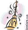 Vector Clipart illustration  of a broom