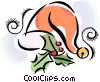 Vector Clipart picture  of a Santa hat