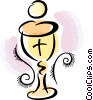 Vector Clip Art picture  of a chalice
