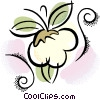 Vector Clip Art picture  of a cotton