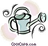 watering can Vector Clip Art image