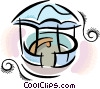 Vector Clipart graphic  of a gazebo