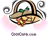 basket Vector Clipart illustration