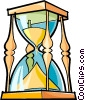 Vector Clip Art image  of a hourglass