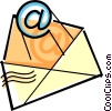 Vector Clip Art graphic  of a e-mail