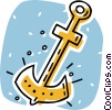 Vector Clipart graphic  of an anchor